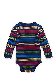 Nursery Rhyme Striped Thermal Bodysuit