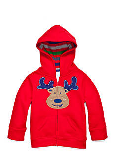 Nursery Rhyme Reindeer Zip Hoodie Infant/Baby Boys