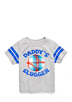 Nursery Rhyme Play™ 'Daddy's Slugger' Baseball Tee