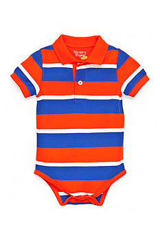 Nursery Rhyme Play™ Striped Polo Bodysuit