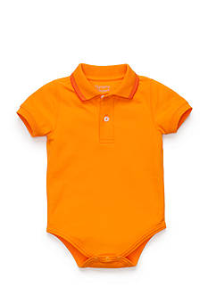 Nursery Rhyme Play™ Solid Polo Bodysuit