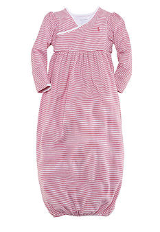Ralph Lauren Childrenswear Pink Striped Gown