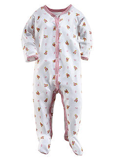 Ralph Lauren Childrenswear Bear Printed Coverall