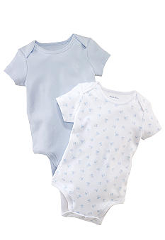 Ralph Lauren Childrenswear Toy Block Bodysuit Set of 2