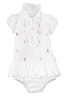 Ralph Lauren Childrenswear Allover Pony Polo Dress