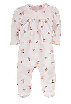 Ralph Lauren Childrenswear Bear Coverall