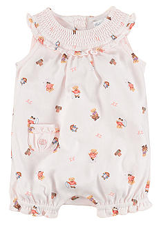 Ralph Lauren Childrenswear Bear Bubble Romper