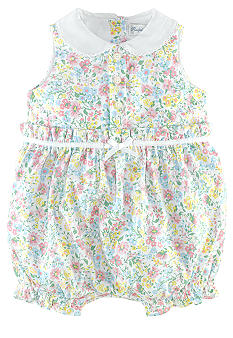 Ralph Lauren Childrenswear Floral Bubble Romper