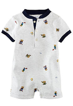 Ralph Lauren Childrenswear Bear Shortall