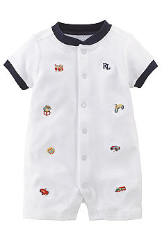 Ralph Lauren Childrenswear Basic Toy Shortall