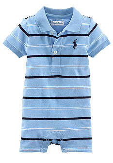 Ralph Lauren Childrenswear Striped Polo Shortall