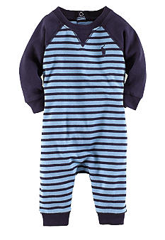 Ralph Lauren Childrenswear Striped Raglan Coverall