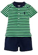 Ralph Lauren Childrenswear Striped Short Set