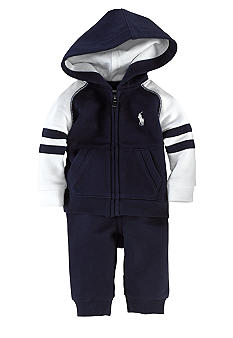 Ralph Lauren Childrenswear 2-Piece Athletic Hoodie Set