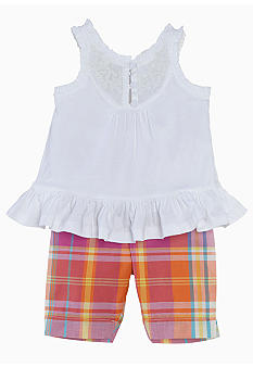 Ralph Lauren Childrenswear Madras Legging Set