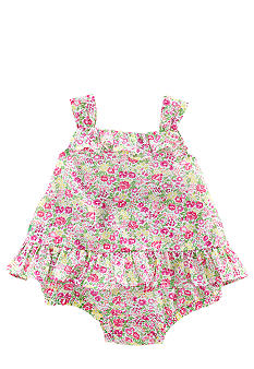 Ralph Lauren Childrenswear Floral Sun Tank Set