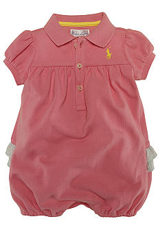 Ralph Lauren Childrenswear Cotton Mesh Shortall