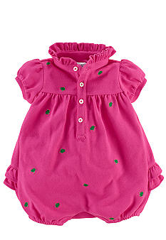 Ralph Lauren Childrenswear Turtle Embroidered Bubble Shortall