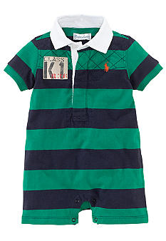 Ralph Lauren Childrenswear Rubgy Striped Shortall