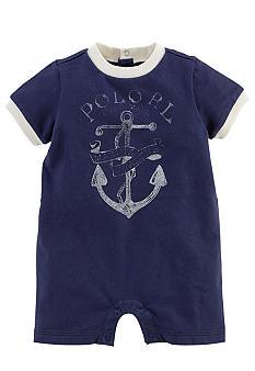Ralph Lauren Childrenswear Distressed Graphic Shortall