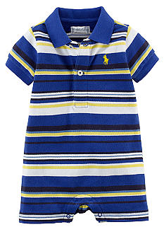 Ralph Lauren Childrenswear All Over Stripe Shortall
