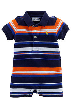 Ralph Lauren Childrenswear Vibrant Striped Shortall