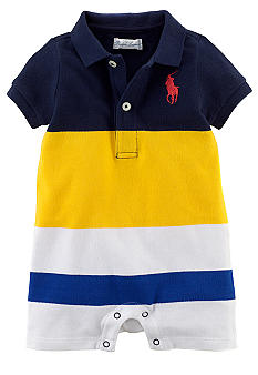 Ralph Lauren Childrenswear Bold Striped Shortall
