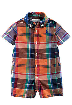 Ralph Lauren Childrenswear Preppy Madras Shortall