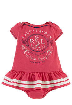 Ralph Lauren Childrenswear Nautical Graphic Dress