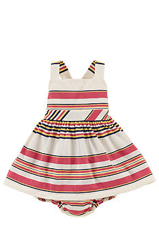 Ralph Lauren Childrenswear Retro Stripe Dress