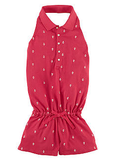 Ralph Lauren Childrenswear Embroidered Anchor Romper