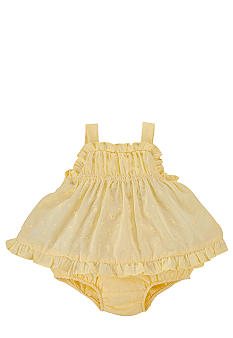 Ralph Lauren Childrenswear Ruffle Eyelet Tunic
