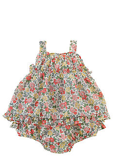 Ralph Lauren Childrenswear Floral Print Batiste Set