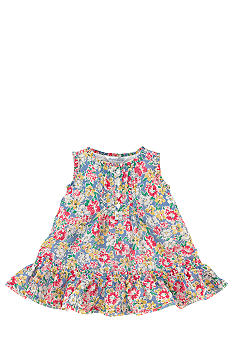 Ralph Lauren Childrenswear Floral Print Babydoll Dress
