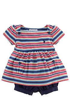 Ralph Lauren Childrenswear Nautical Seersucker Short Set