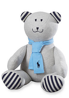 Ralph Lauren Childrenswear Solid Mesh Teddy Bear