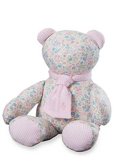Ralph Lauren Childrenswear Floral Patterned Teddy Bear