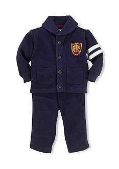 Ralph Lauren Childrenswear Shawl Cardigan & Pull-On Pants