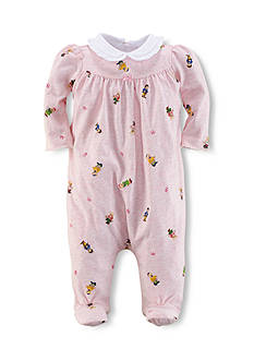 Ralph Lauren Childrenswear Bear Print Coverall