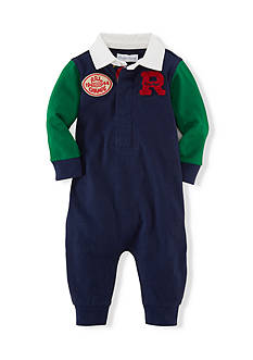 Ralph Lauren Childrenswear Rugby Shirt Coverall