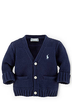 Ralph Lauren Childrenswear V-Neckline Cardigan