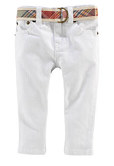 Ralph Lauren Childrenswear Bowery White Wash Jean