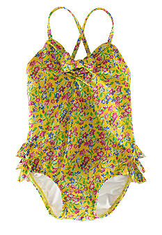 Ralph Lauren Childrenswear Floral Swimsuit