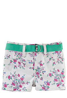 Ralph Lauren Childrenswear Floral Print Denim Short