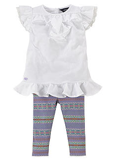 Ralph Lauren Childrenswear White Legging Set