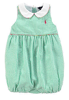 Ralph Lauren Childrenswear Seersucker Romper