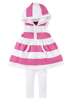 Ralph Lauren Childrenswear Hoodie Dress and Legging Set