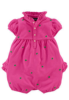 Ralph Lauren Childrenswear Schiffli Embroidered Ruffle Shortall