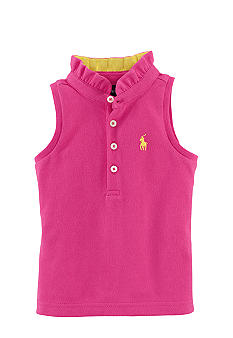 Ralph Lauren Childrenswear Sleeveless Mesh Shirt