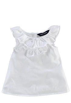 Ralph Lauren Childrenswear White Ruffle Top